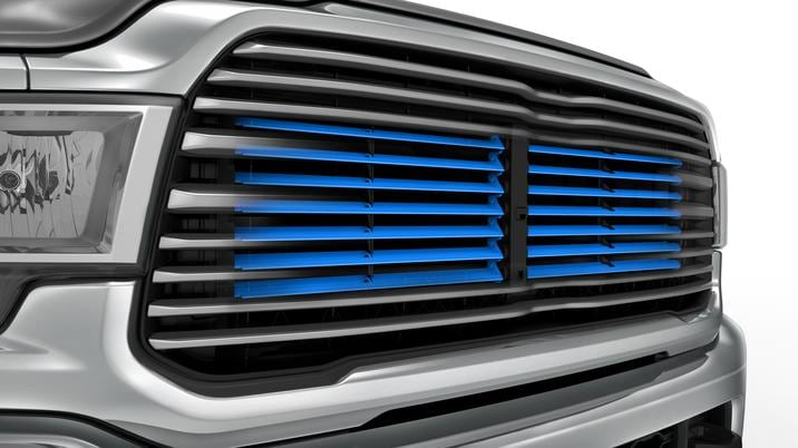 2019 Ram Active Grill Shutters