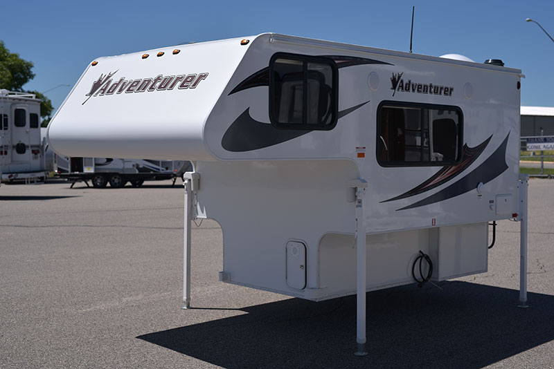 Adventurer 80GS Exterior Drivers Side Front Three Quarters
