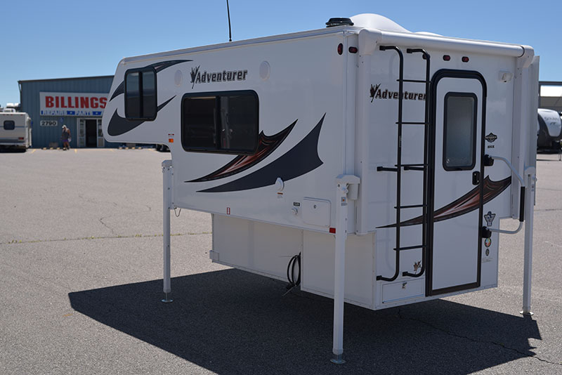 Adventurer 80GS Exterior Drivers Side Rear Three Quarters