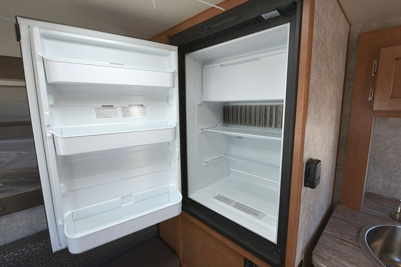 Adventurer 80GS Refrigerator Open