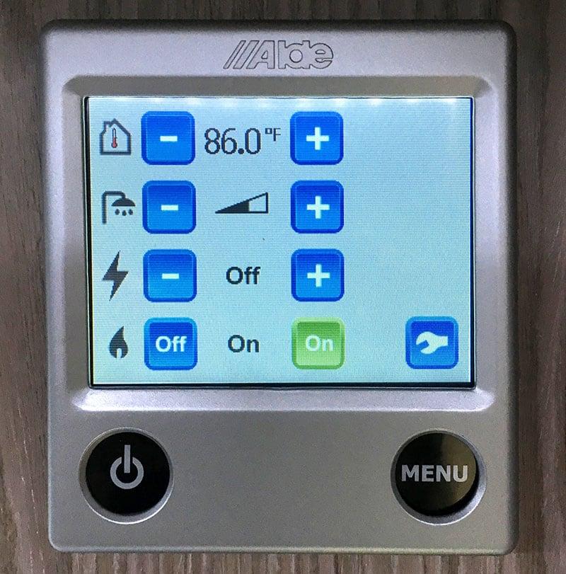 Alde 3010 Monitor Panel
