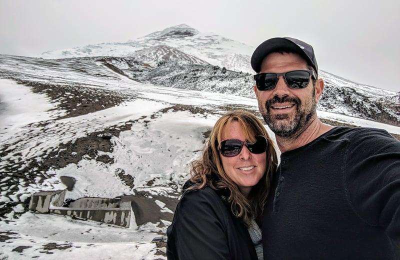 Angela and Scott Woodhams