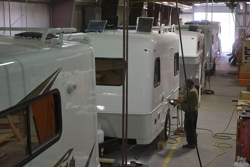 Bigfoot Production Trailers And Campers