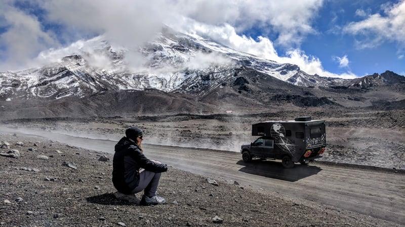 Chimborazo Ecuador 20564 Feet