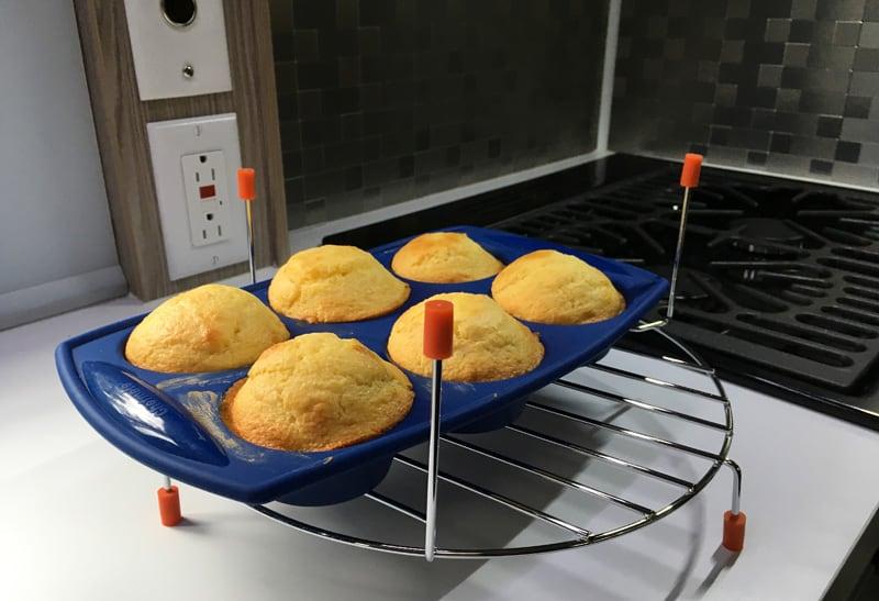Finished Corn Muffins Yum