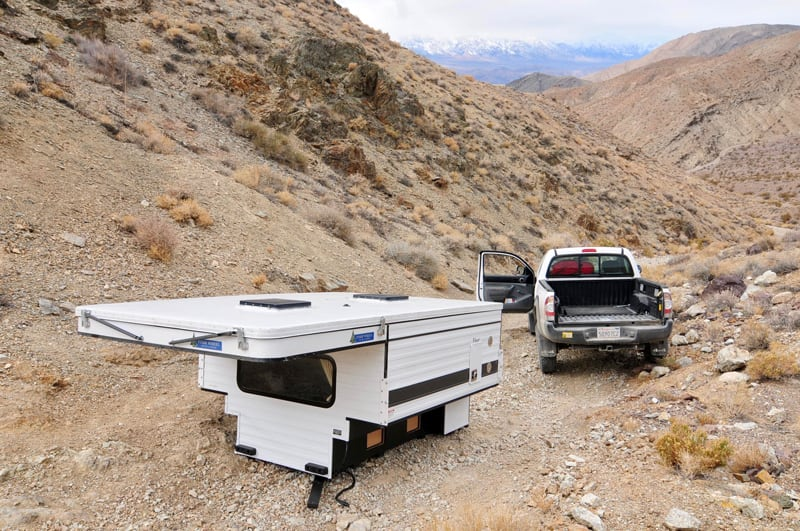 Getting Truck Around Four Wheel Camper