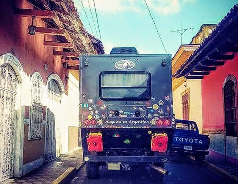 Granada Nicaragua City Street
