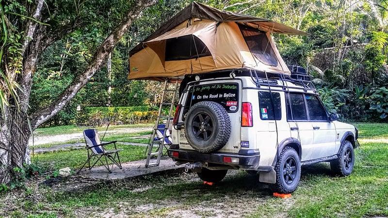 Landrover Camping Through Mexico