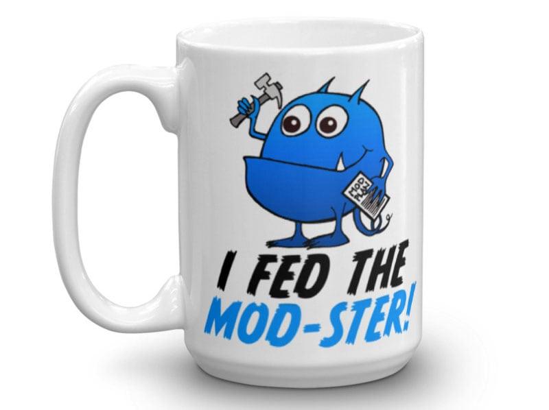 Mod Ster Mug Front