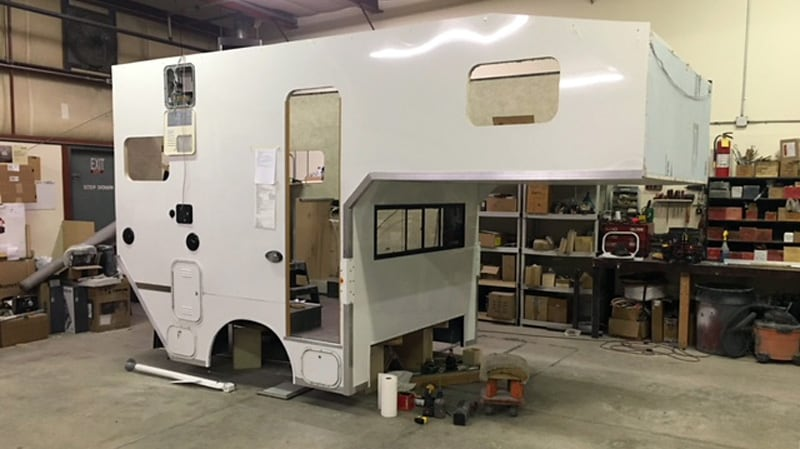Phoenix Camper Is Separate From Truck