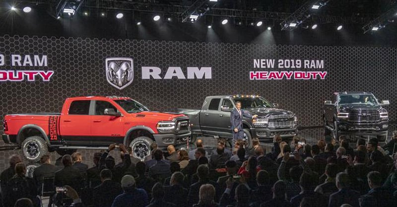 Reid Bigland, Head Of Ram, Detroit Auto Show