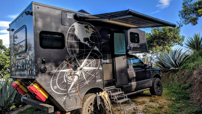 Side Entry Chassis Mount Camper