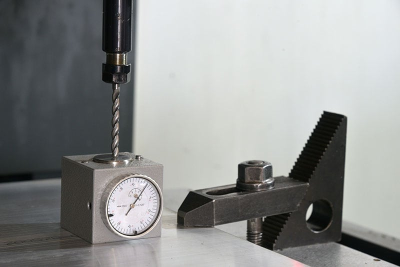 StableCamper Factory Mill Calibration