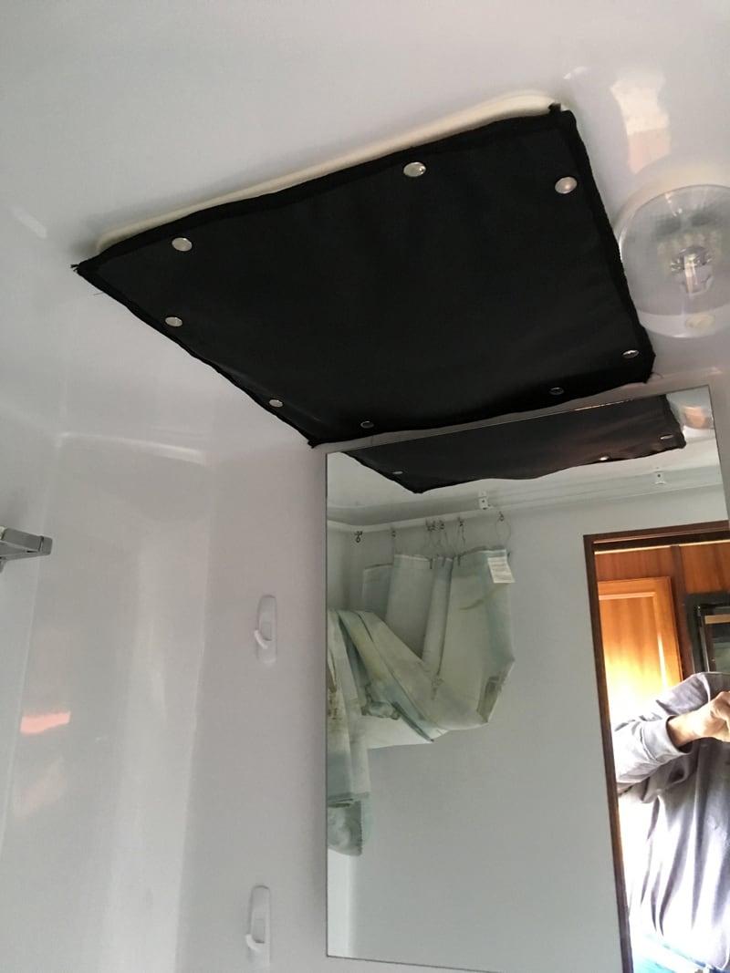 Bathroom Vent Insulation Panel