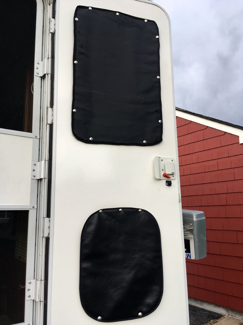 Camper Door Insulation Panels