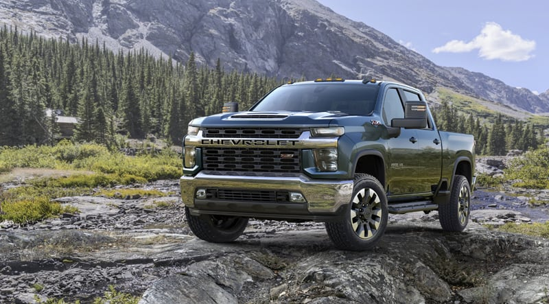 2020 Chevrolet Silverado HD Series for Truck Campers