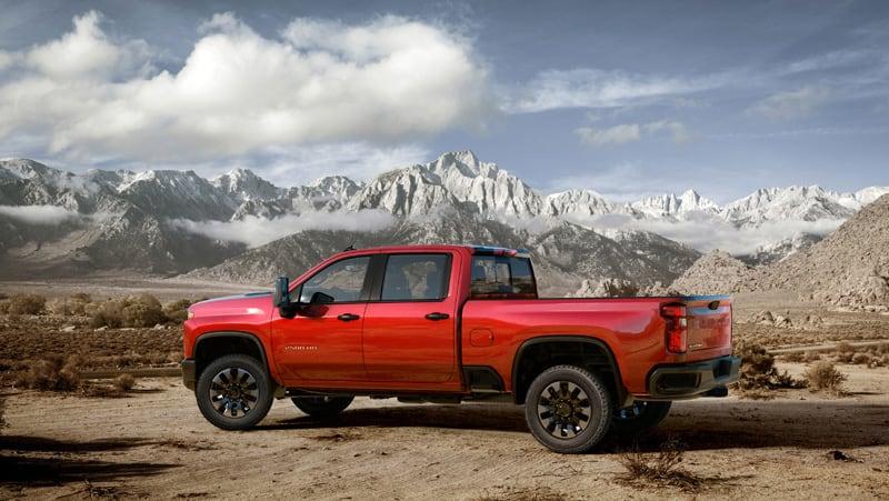 2020 Chevrolet Silverado 2500HDred Truck
