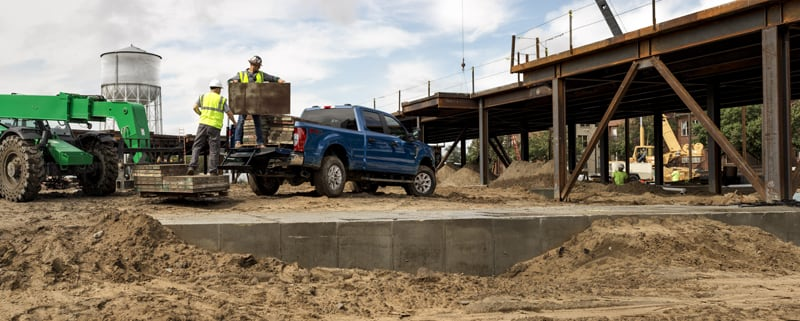 2020 F-250 payload