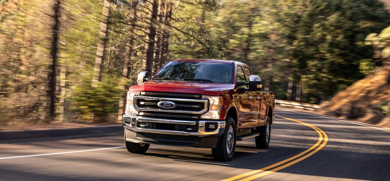 2020 Ford F250 Driving