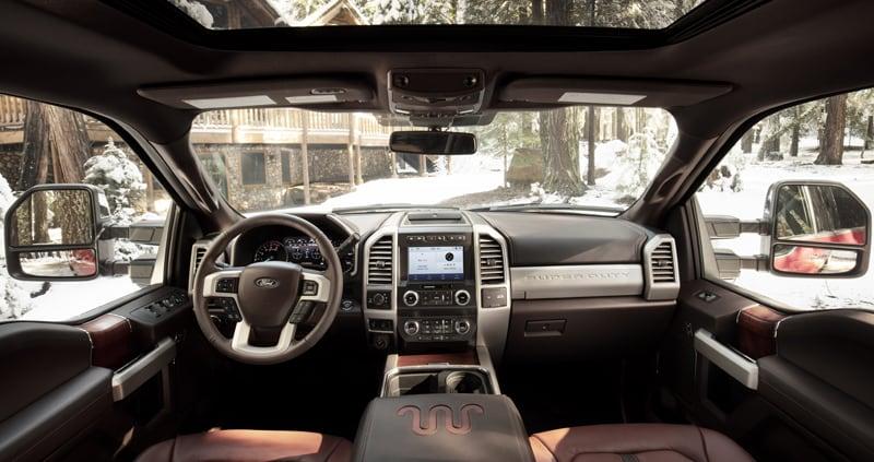 2020 Ford F250 King Ranch Interior