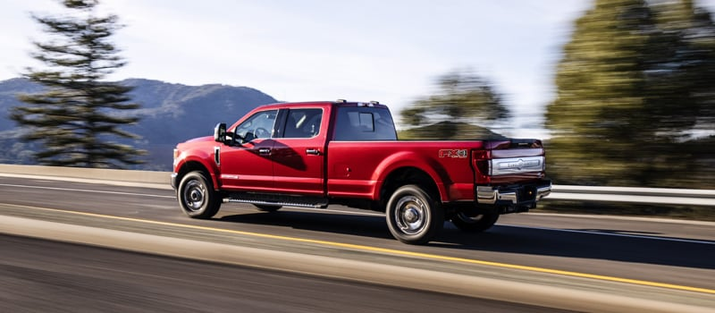 2020 Ford F250 Red