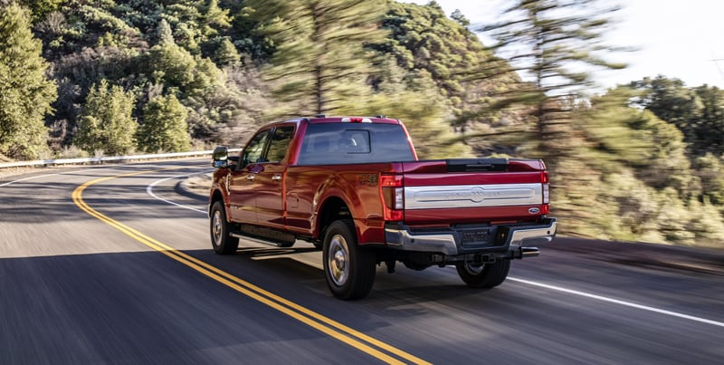 2020 Ford F250 Tailgate