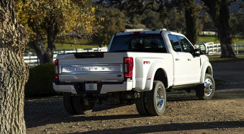 2020 Ford F450 Limited Tailgate