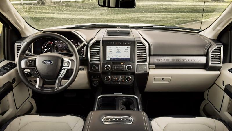 2020 Ford F450 Dash