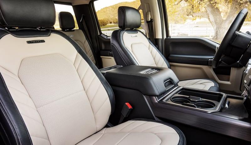 2020 Ford F450 Interior