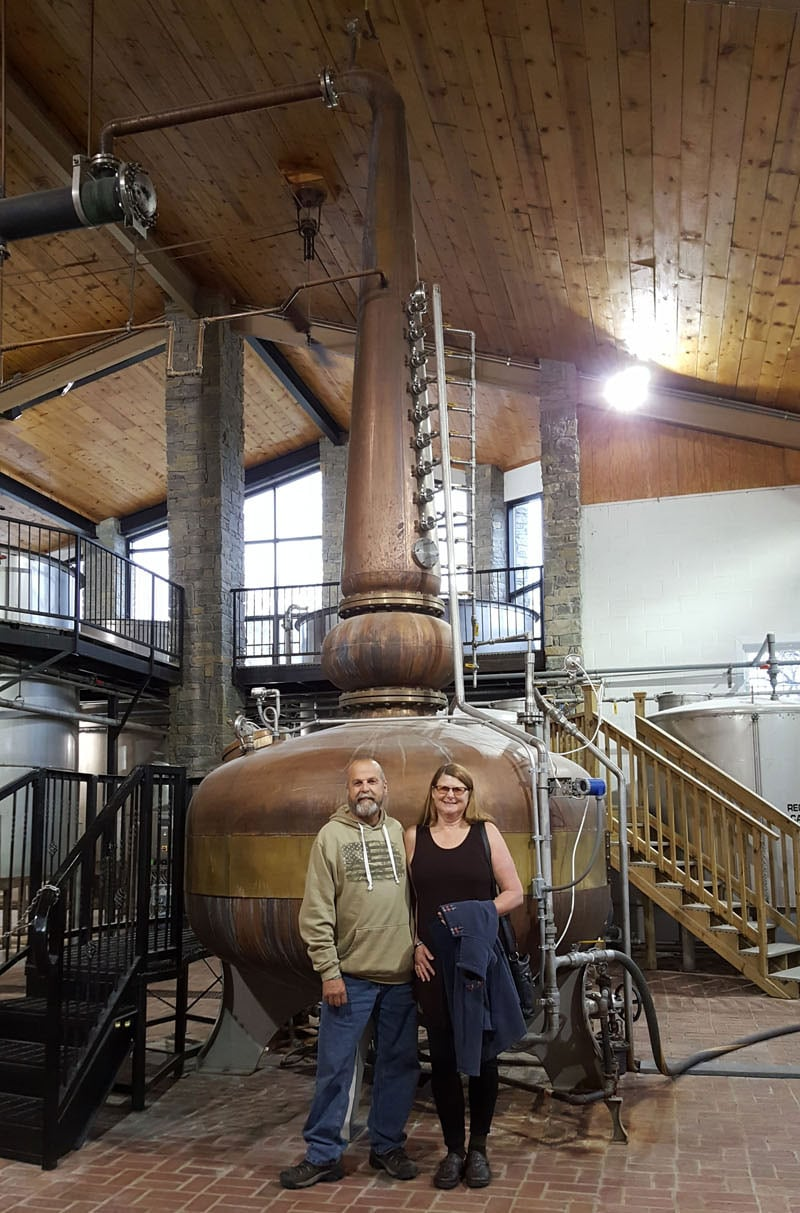 Bruce And Deb At A Distillery Kentucky
