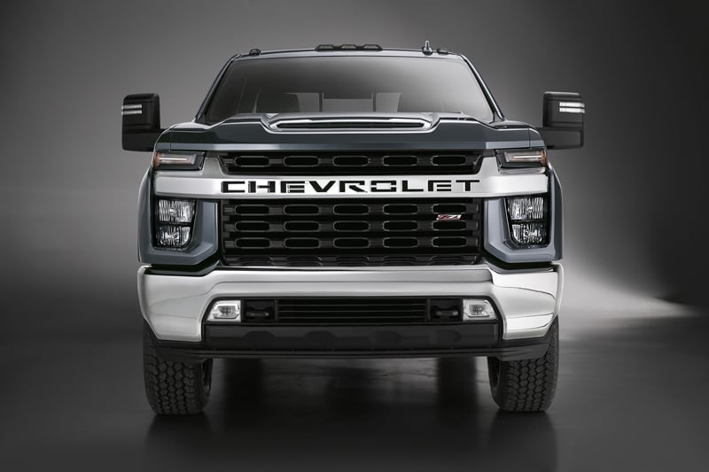 2020 Chevrolet Silverado HD Series for Truck Campers ...