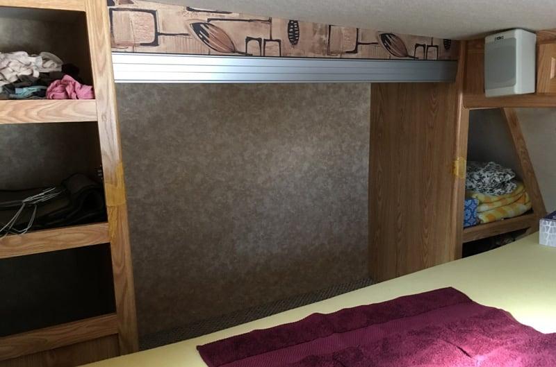 Closet Doors Removed