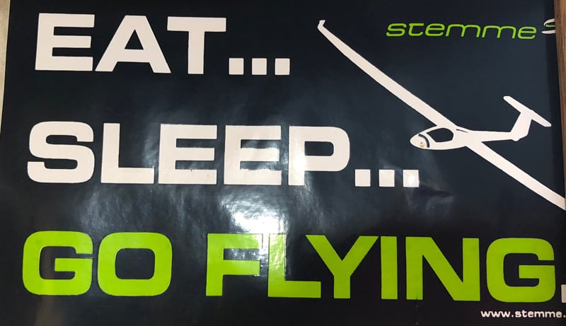Eat Sleep Go Flying