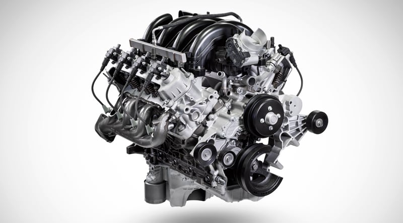 Ford 7.3L V8 Gas Engine