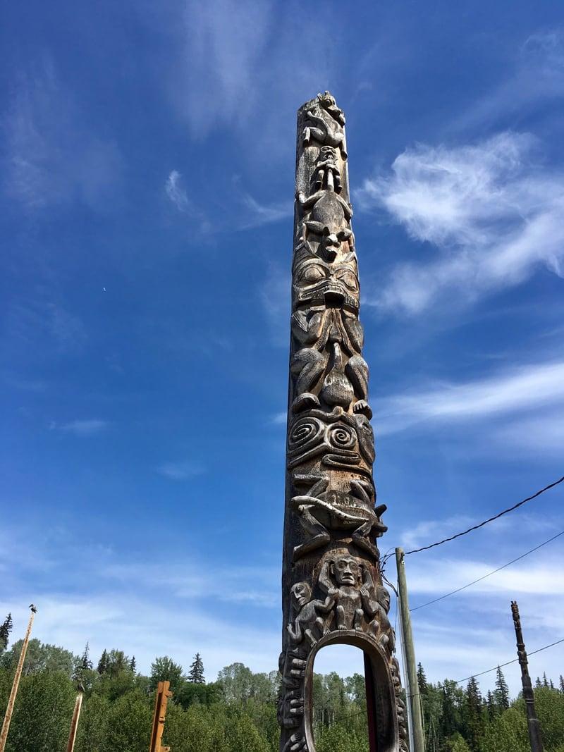 Gitanyow Village, British Columbia
