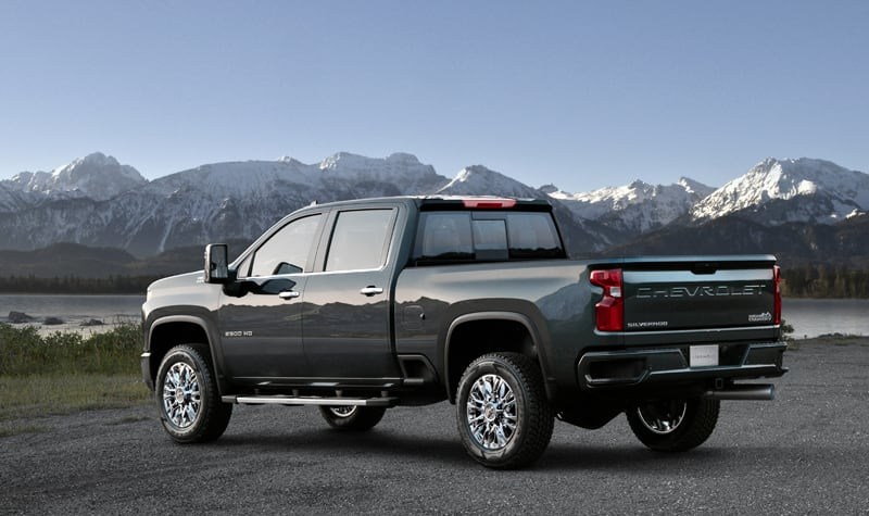 High Country Is One Of Five Trim Levels For The All New 2020 Chevrolet Silverado HD
