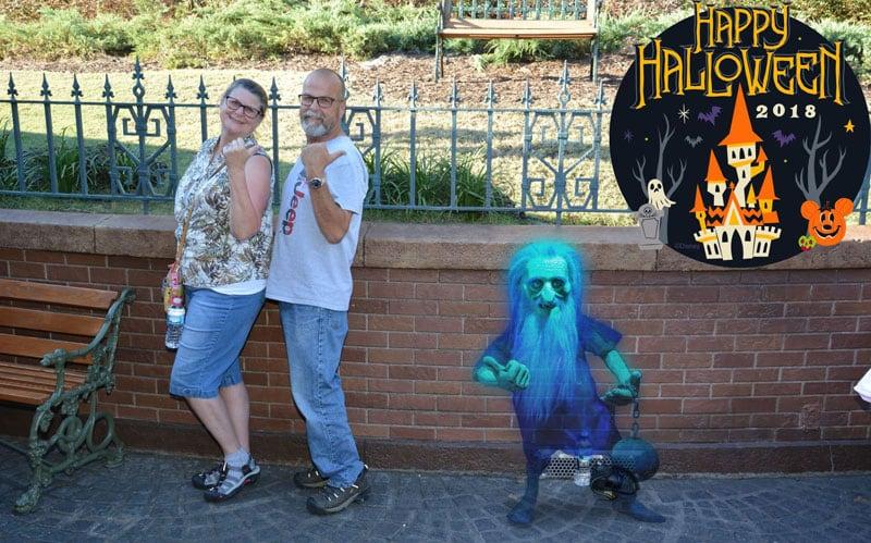 Magic Kingdom Halloween Mansion