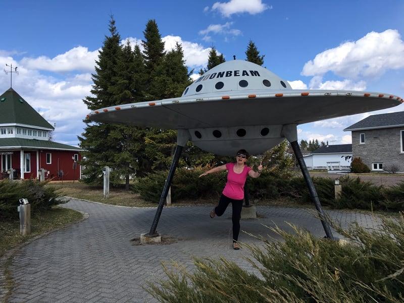 Moonbeam Visitor Centre in Ontario