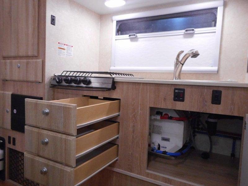 Northstar Laredo SS Interior Kitchen Drawers