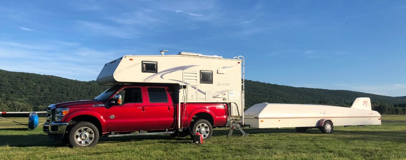 Northstar Laredo And Glider Trailer