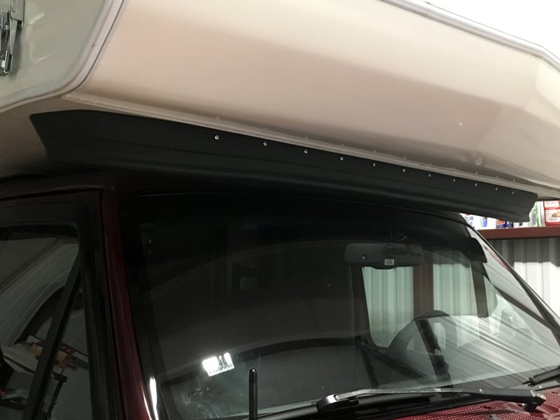 Plastic Bumper Valence To Reduce Wind Noise