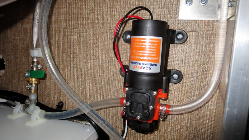 Pressurized Fresh Water System 6
