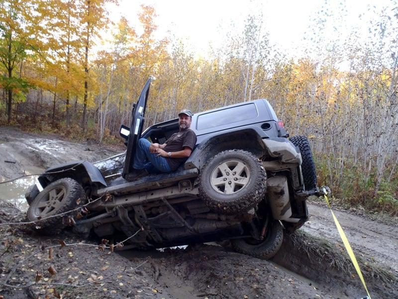 Rubicon In Mud Michigan