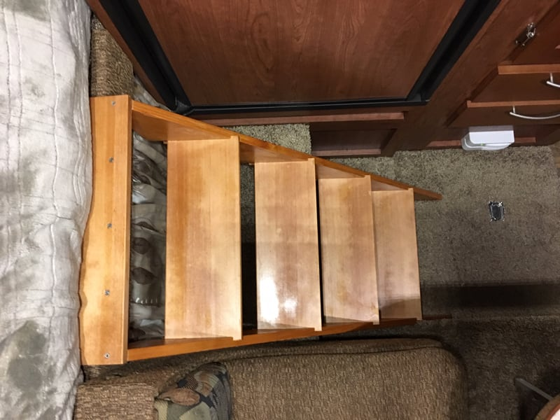 Stairs To Cabover Bed