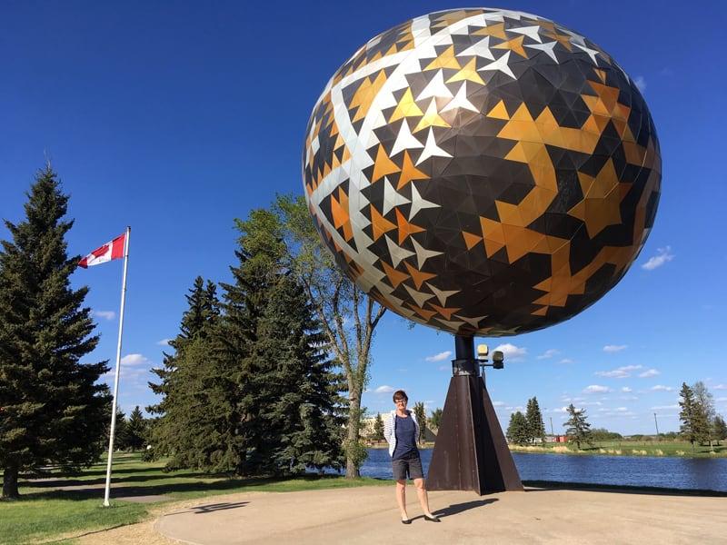 Vegreville Pysanka A Very Large Ukrainian Style Easter Egg
