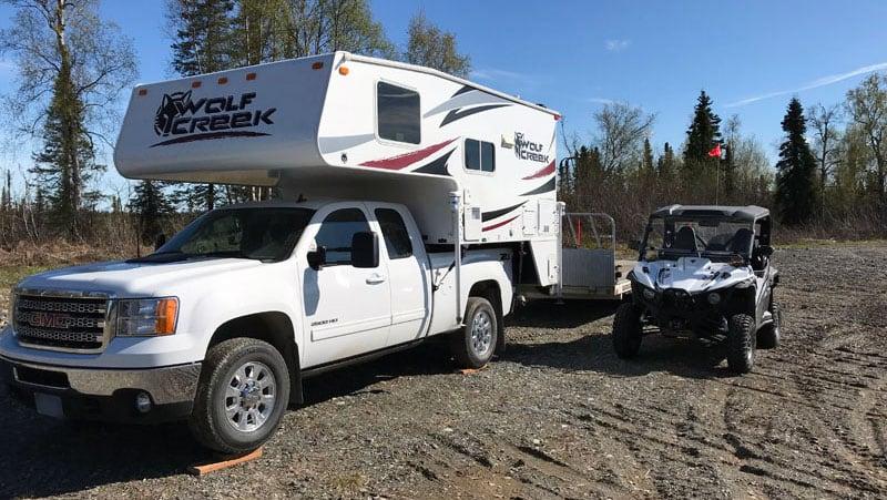 2014 Wolf Creek 850SB with ATV