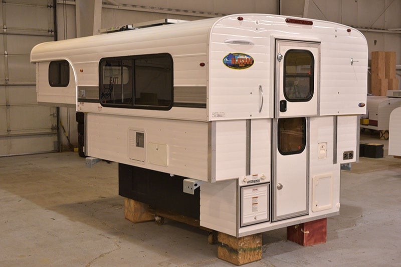 Alaskan Camper 8 Foot Drivers Rear