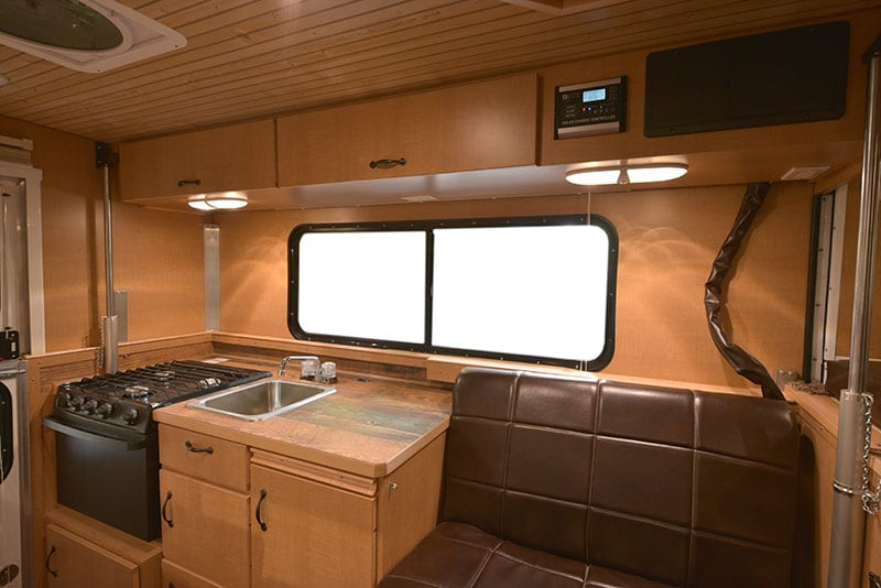 Alaskan Camper Interior Drivers Side
