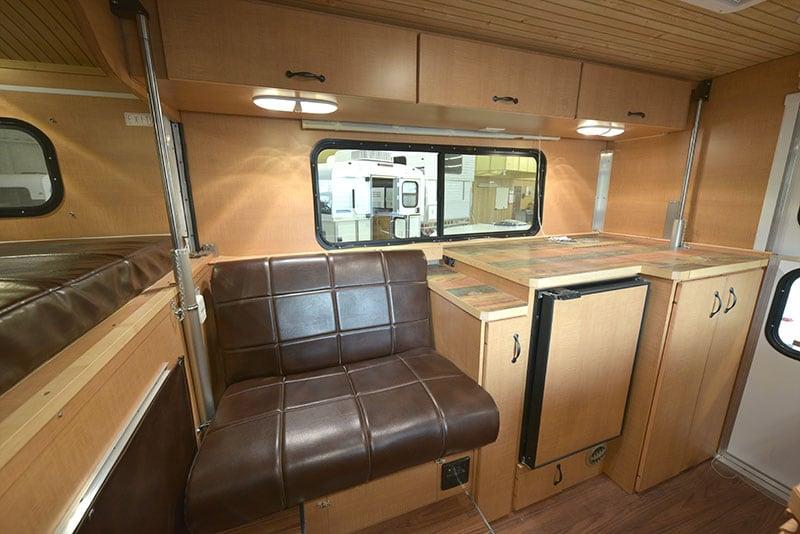 Alaskan Camper Interior Passenger's Side