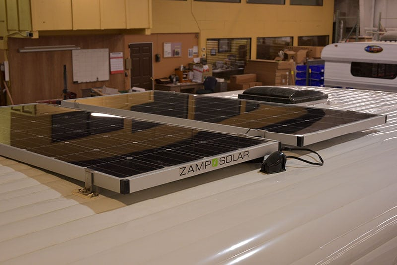 Alaskan Campers have Zamp Solar Panels